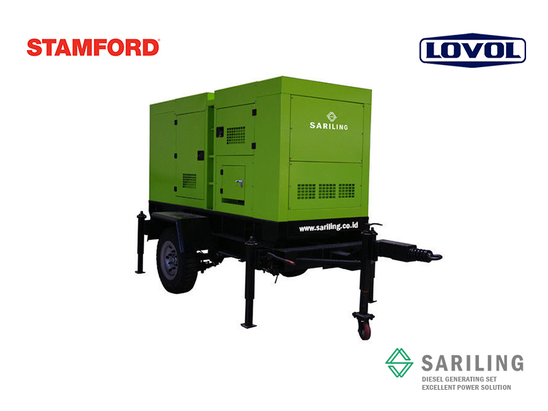 Distributor genset Lovol Trailer